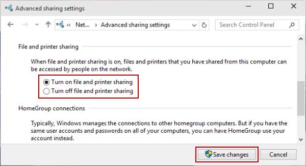 Advanced Printer Settings