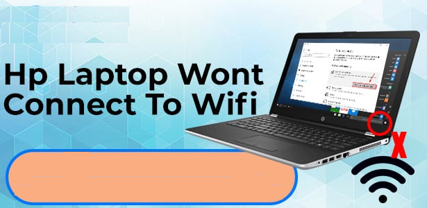 Why does my HP laptop not connect to WiFi