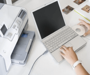 how to update lcd list on hp printer