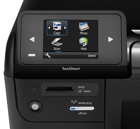 hp 2540 series printer wifi password