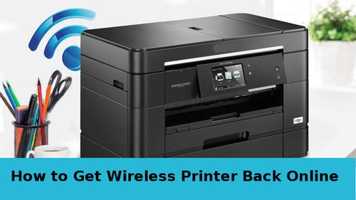 how to get wireless printer back online